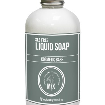 a silky smooth liquid soap with moisturising and skin refatting properties