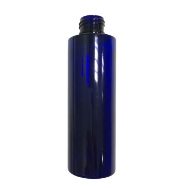 150ml Blue Plastic Bottle suitable for skincare and haircare products