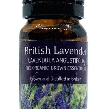 British Lavender essential oil distilled grown and distilled on the Surrey hills, Banstead