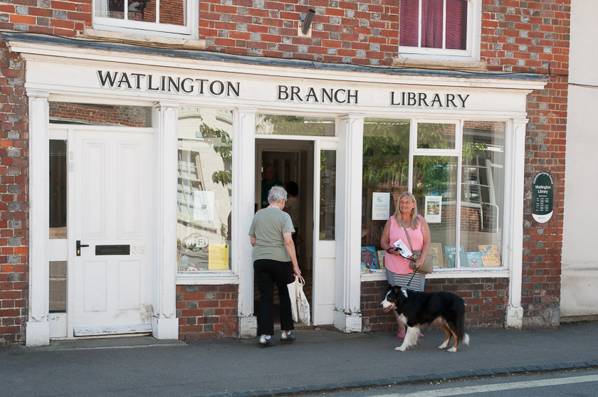 Watlington Library, the location for the fictitious Causton Library that starred in Orchis Fatalis.