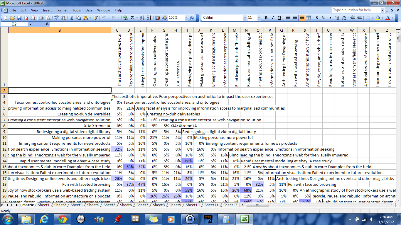 Sample Of Excel Spreadsheet With Data