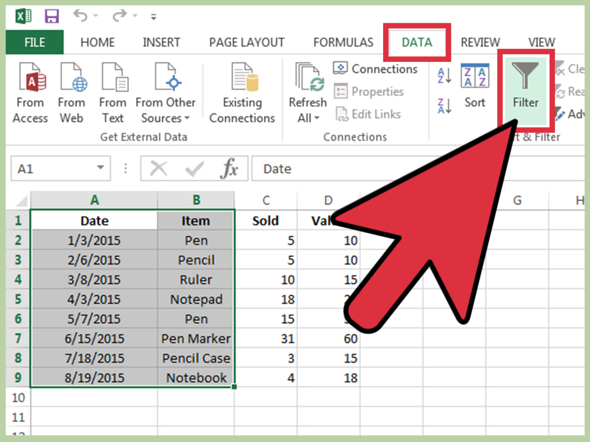 Secure Excel Spreadsheet