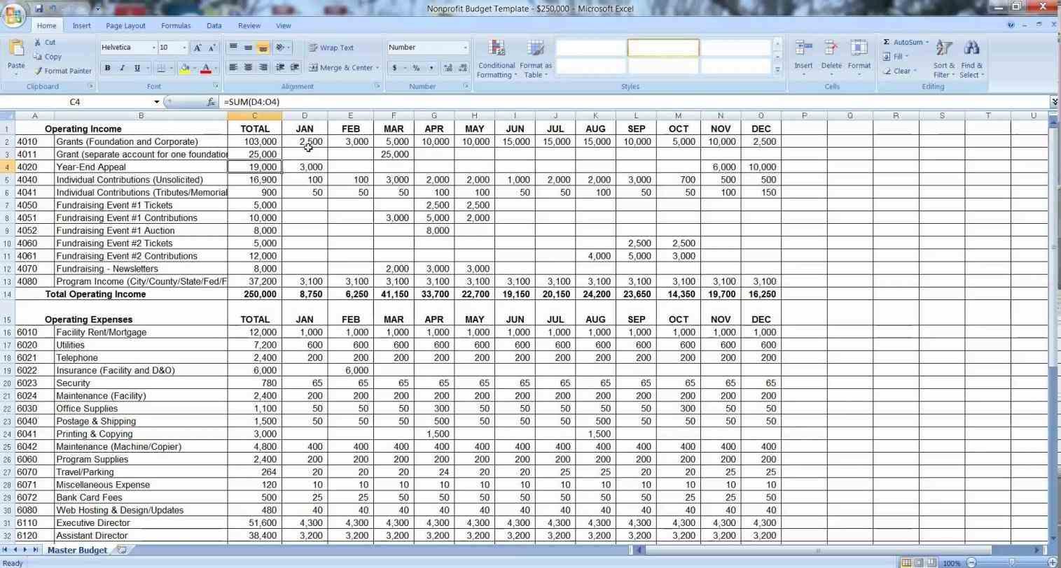 How To Program Excel Spreadsheet