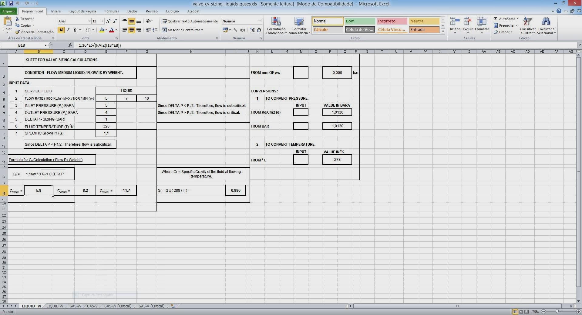 Reciprocating Compressor Data Sheet Xls