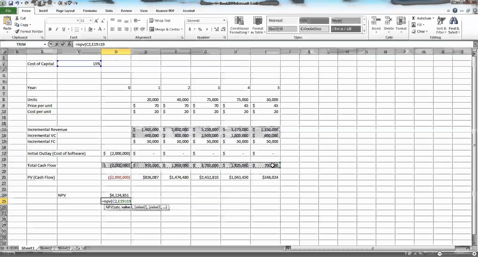 Budgeting In Excel Spreadsheet
