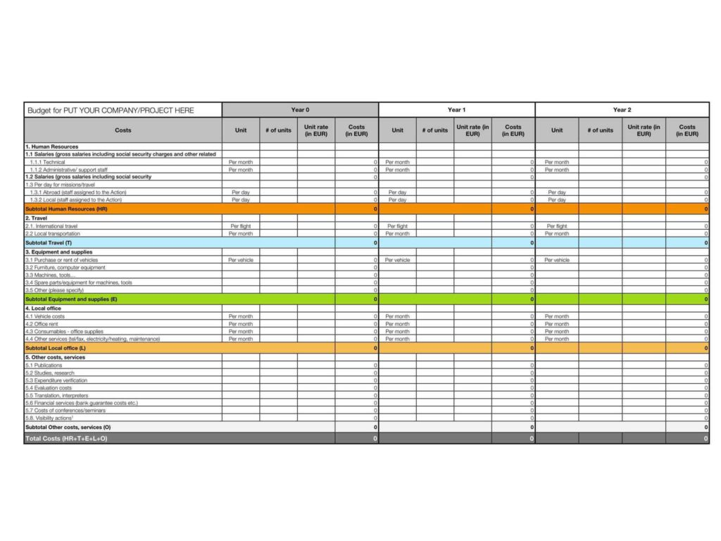 Free Vacation And Sick Time Tracking Spreadsheet
