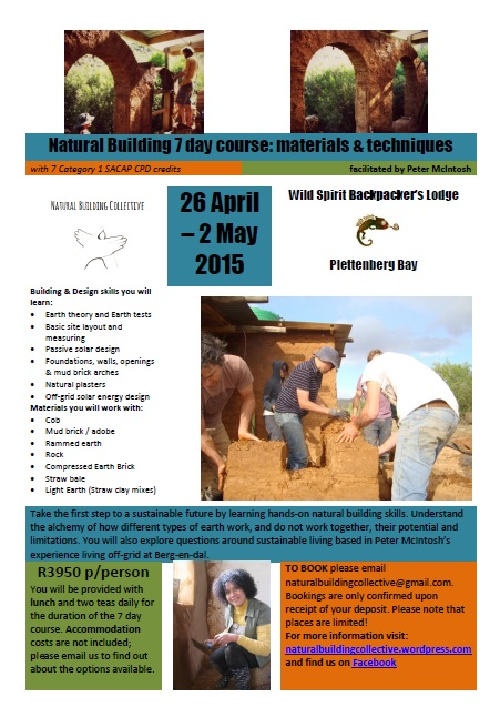 CPD accredited Natural Building 7 day course_April_WS