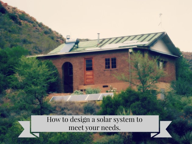 How to design a solar system