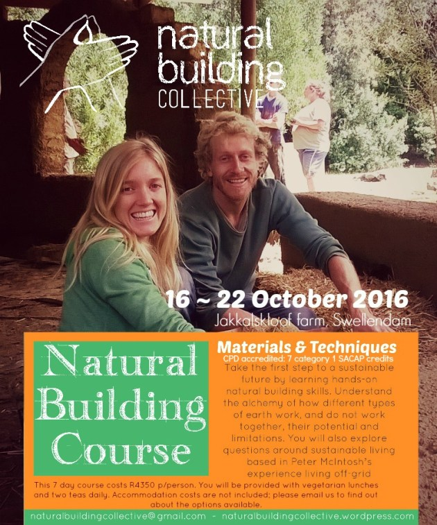 Natural Building Collective_Natural building course October 2016 Swellendam