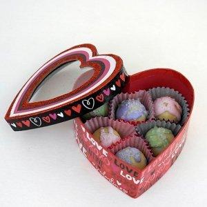 Valentines Soap Truffles