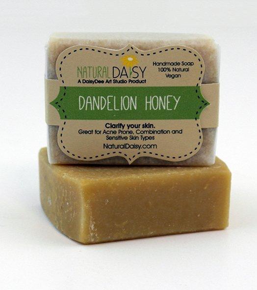 Handmade Dandelion Honey Soap