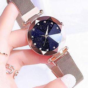 Relógio Feminino Pulseira Magnética Juilli Bubuy