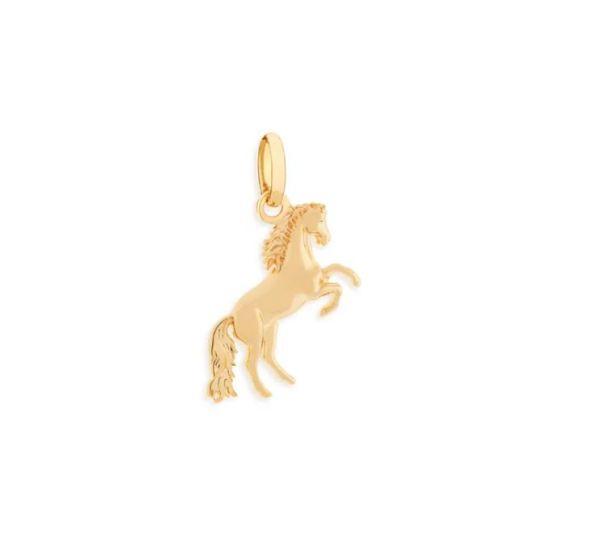 Pingente Rommanel 542046 formato cavalo