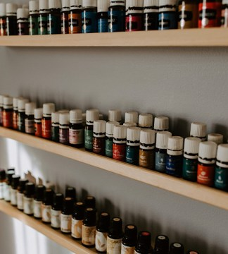 Essential Oils at Natural Elements Health Center