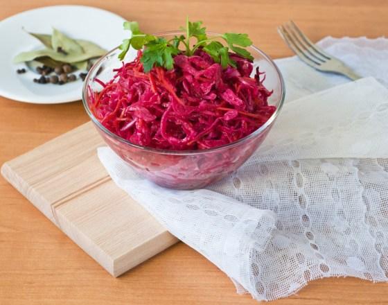 Beet & Cabbage Salad