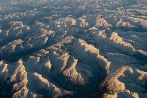 A view of the Brooks Range on my way to Barrow, Alaska.