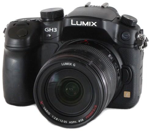 Panasonic's Lumix GH3.