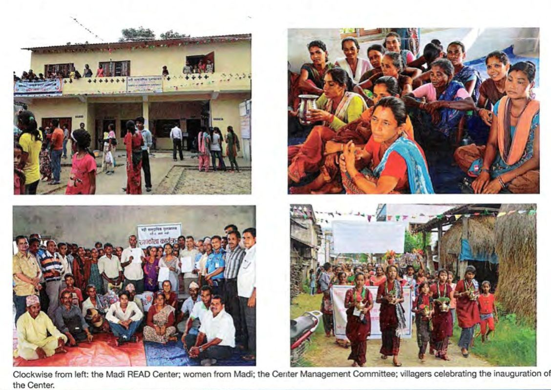 Photos from Sarah's trip to Nepal that she included on a thank you card she sent us.