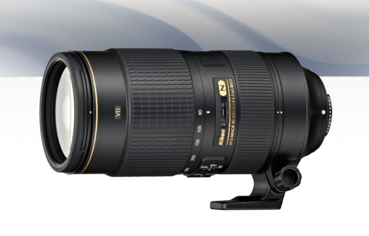 Nikon's new 80-400mm zoom lens. 0.00US rebate available.