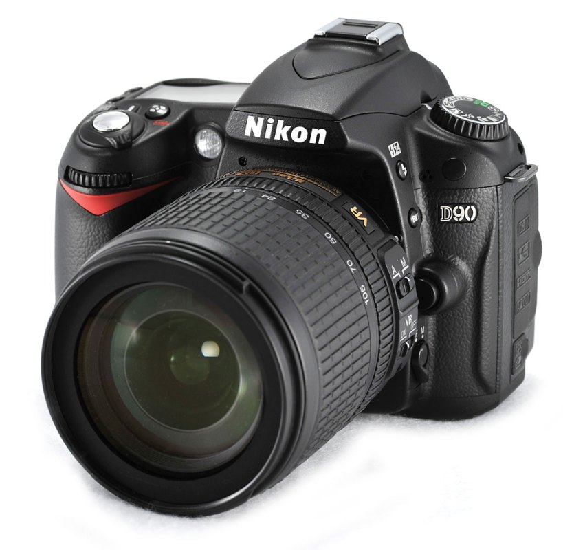 Nikon's revolutionary D90 with HD Video capture built in.