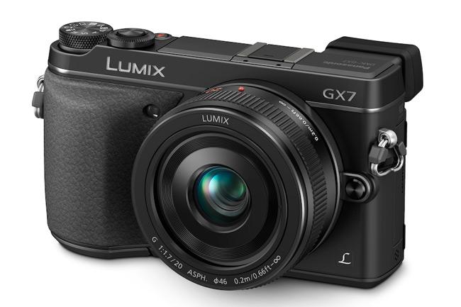 The Panasonic Lumix GX7.