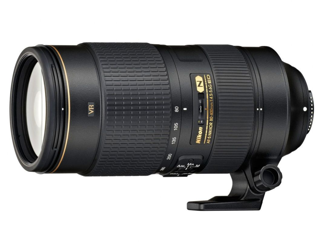 Nikon's newest version of the Nikkor 80-400mm VRll zoom lens. My ultimate go to lens for fast moving action.