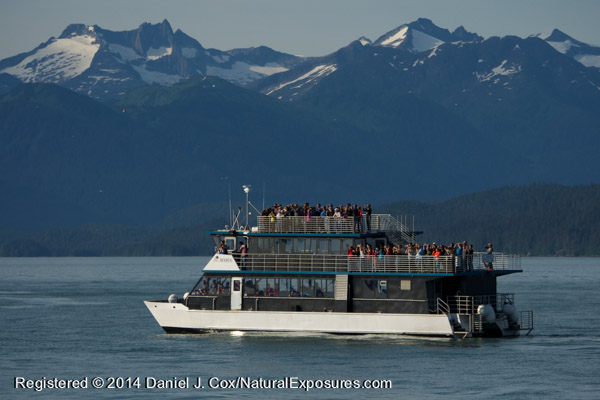 One of the huge whale watching boats that are based in Auke Bay, Alaska. Lumix GH4 with 100-300mm lens
