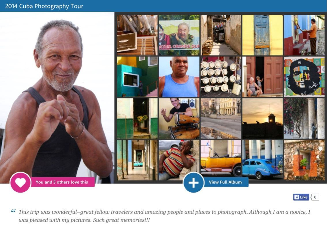 Visit the Cuba gallery of images by Jeanne Sturgis to see a small glimpse of the beautiful country for yourself.