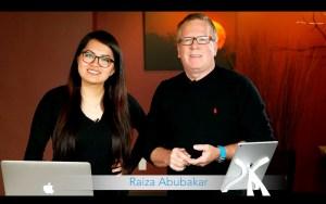 My friends Raiza Abubakar and Kevin Gilbert