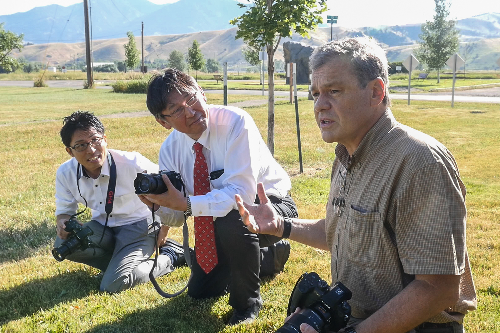 Panasonic Lumix Engineers Visit Bozeman