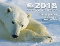 Cover of 2018 Polar Bears International Annual Report