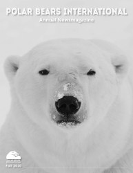 Cover of 2020 Polar Bears International Annual News Magazine