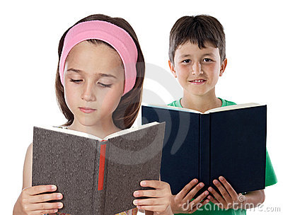 two-children-reading-12254598