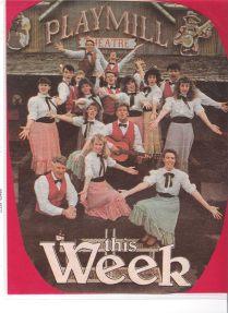 Playmill Memories cast of 1987