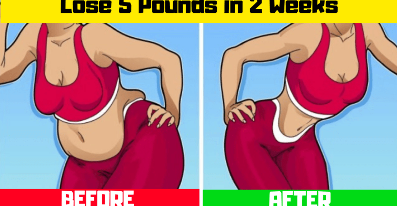 How To Lose 5 Pounds in 2 Weeks