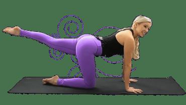 Zoe Yoga Burn Booty Challenge