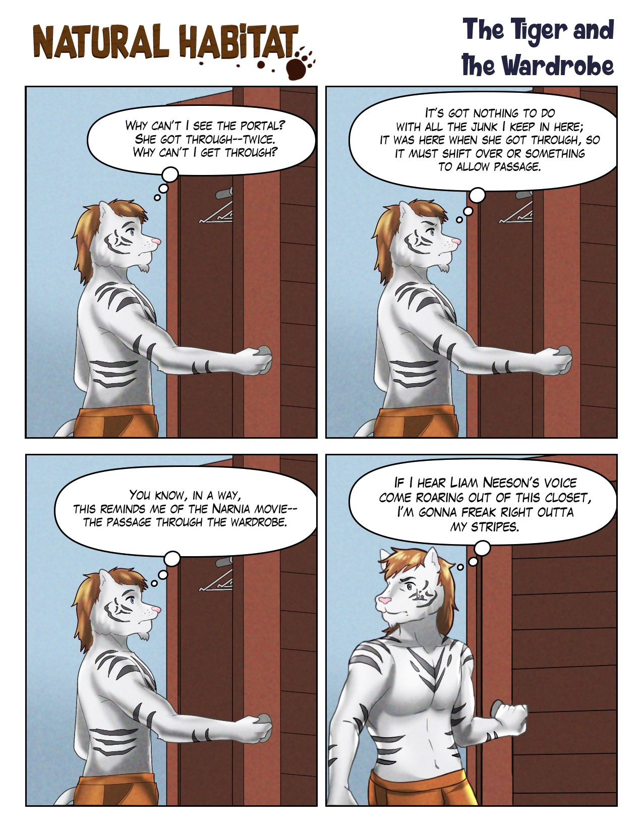 The Tiger and the Wardrobe