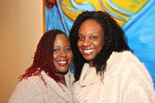 Emma iLuvhair and Eboni attend natural hair brunch
