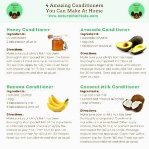 DIY natural hair conditioner