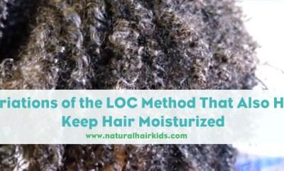 Keep natural hair moisturized