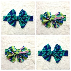oversized bow headbands