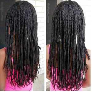 hairstyles for teens microbraids