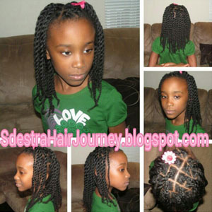 hairstyles for teens twisted braids