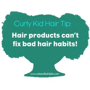Natural hair kids tip