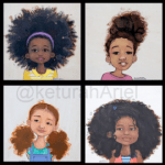 keturah Ariel natural hair kids holiday gift guide