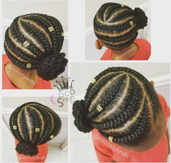 protective styles to grow waist length natural hair