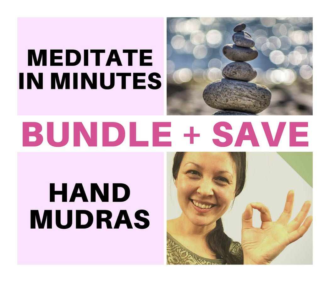 Learn to Meditate & Hand Mudras Course Bundle