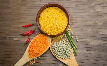 Best foods for reproductive health: Image of lentils.