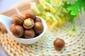 Heart healthy fruits: Image of macadamia nuts.
