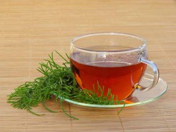 horsetail tea is a great remedy for many ailments